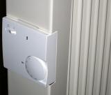 seitenteil mit integriertem thermostat elektroheizung. Black Bedroom Furniture Sets. Home Design Ideas